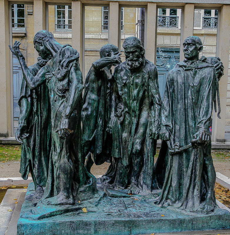 Rodin's The Burghers of Calais By Stino