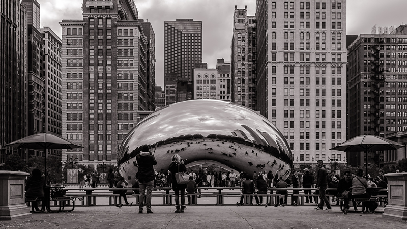 Chicago Bean by Stino