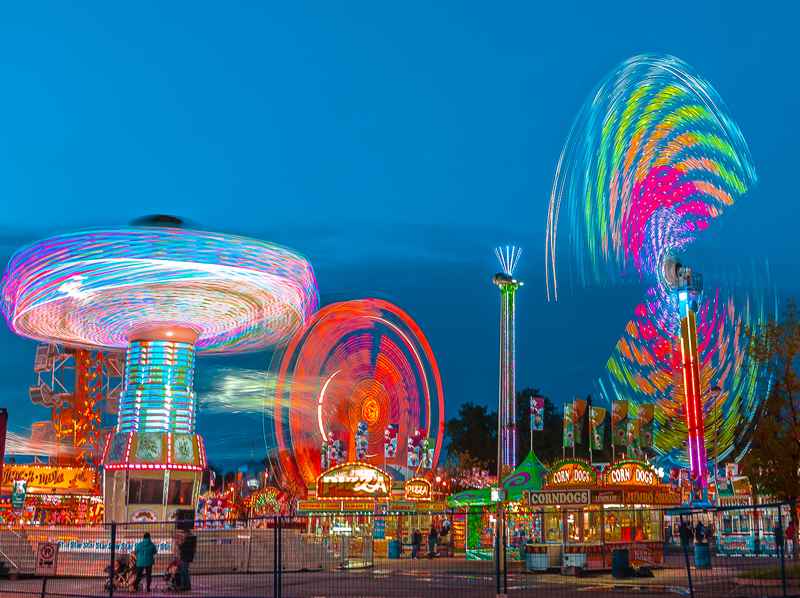 Fair at Twilight by Stino Scaletta