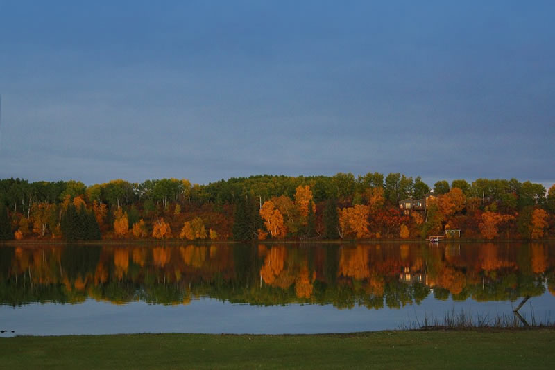 Reflections of Fall by Michelle
